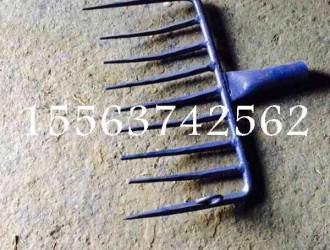 耙子矿山机械装备,木箱包装九齿耙子,山东鑫隆