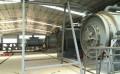 商丘亿龙机械设备卧式旋转新型裂解设备制作商,二手废旧轮胎炼油