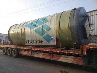 南京市政排污φ3800x8800mm预制式地埋一体化污水泵站