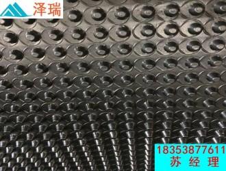 安阳12厚16高排水板-北京车库用蓄排水板
