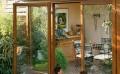 湖州断桥铝合金杭州纯木门窗,杭州铝木复合门窗门