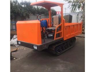 厂家直销履带运输车机械,多功能农用搬运车手扶橡胶履带车设备