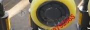 滚轮罐耳厂家,L35滚轮罐耳罐笼缓冲轮