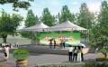 空间张拉膜制作-膜结构公园景观建筑专业制造厂家