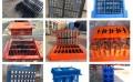 河南梦人加工水泥垫块砖模具厂家销售马路盲道砖模具定制砖机模具