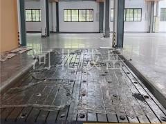 铸铁平台价格回落,加工铸铁T型槽平台,铸铁试验平台地脚固定