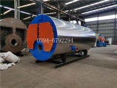 半吨卧式蒸汽锅炉WNS0,5-1,0-QY,大康锅炉