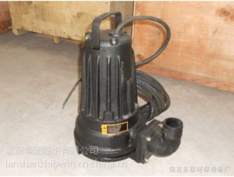 蓝深AS16-2CB潜污泵固定耦合式安装