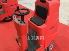 腾阳驾驶式洗地机正确的操作方法